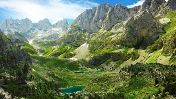 Jezerca Lake, Accursed Mountains Albania